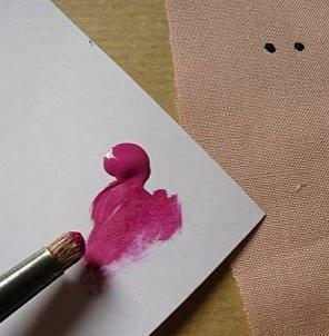 Макияж для куклы Тильда: мастер класс по рисованию лица