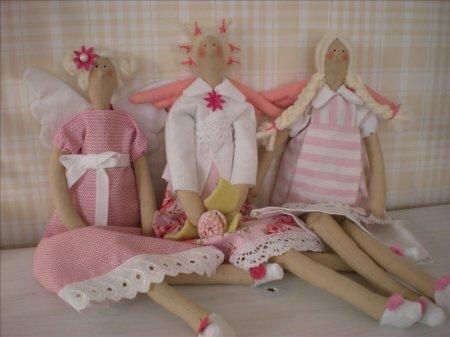 Подборка кукол тильд рукодельниц часть IV