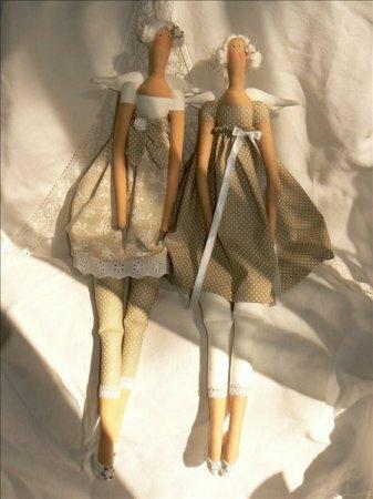 Подборка кукол тильд рукодельниц часть VI