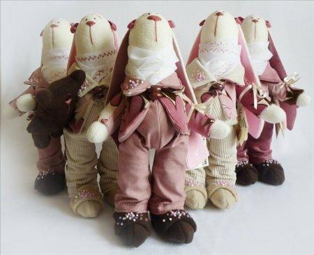 Подборка кукол тильд рукодельниц часть VII