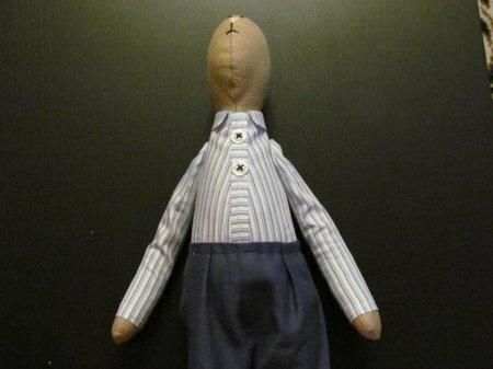 Одежда для тильды. Рубашка для зайчика тильда (мастер-класс)