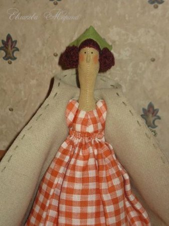 Тильда Осенний <em>осенний ангел тильда мастер-класс</em> Ангел: мастер класс по шитью куклы