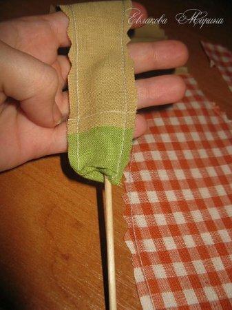 Тильда Осенний Ангел: мастер класс по шитью куклы