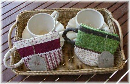 Сумочка в виде чайных чашек