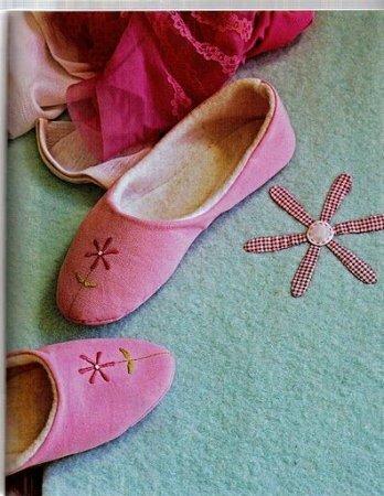 Тапочки в стиле тильда