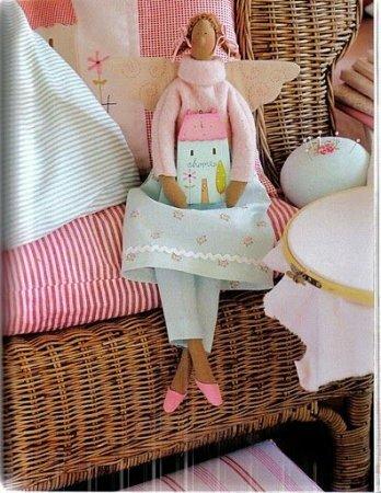 Кукла тильда - Ангел домашнего уюта: выкройка дли шитья