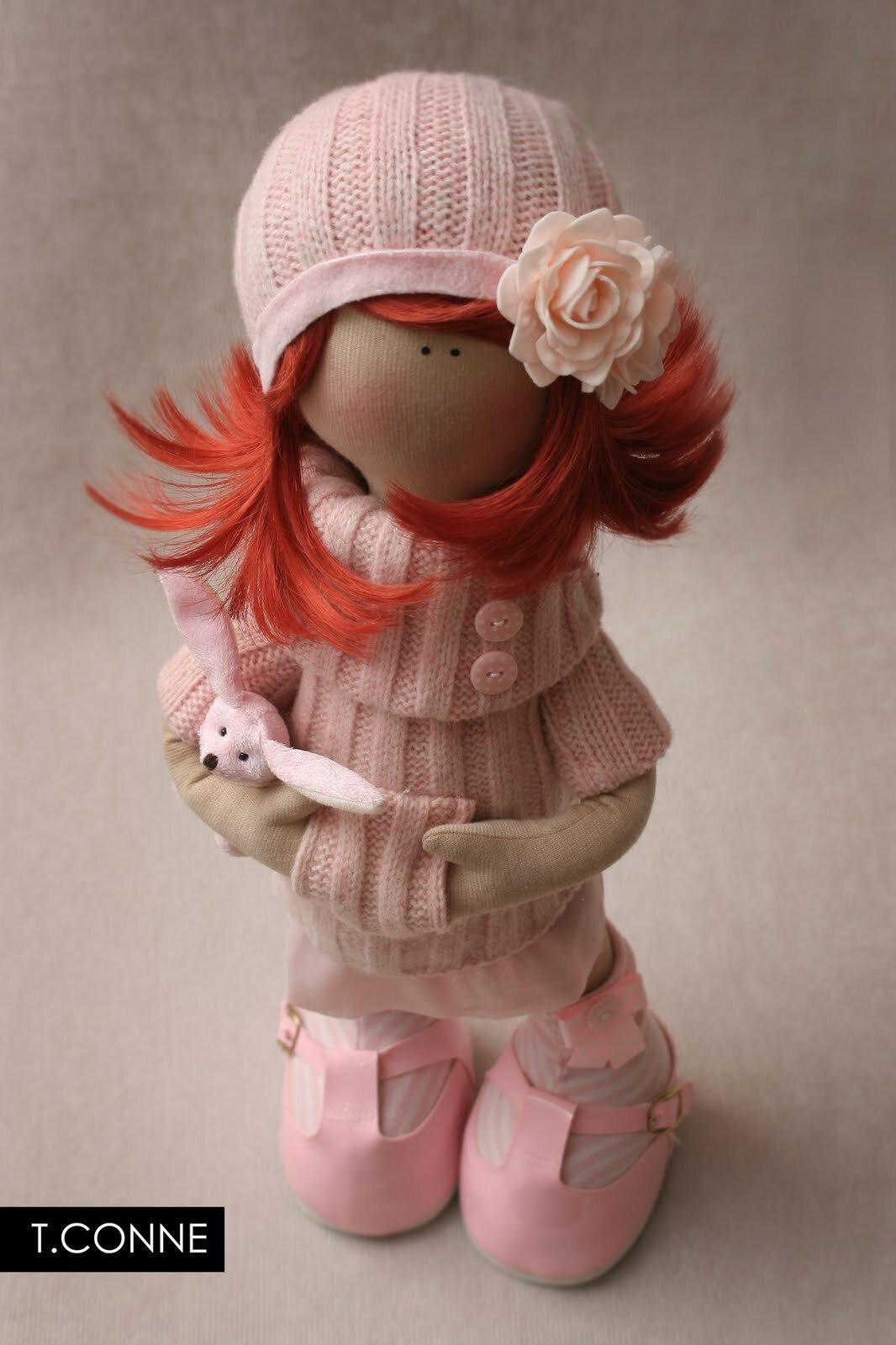 Интерьерная кукла для начинающих с пошаговым описанием