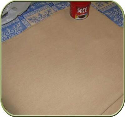 Окрашивание ткани для Тильды