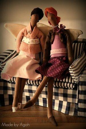 Подборка кукол тильд рукодельниц часть XIV. Стильные тильды
