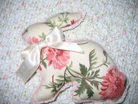 Тильда заяц: выкройка мягкой игрушки для шитья