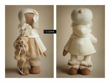 Подборка кукол тильд рукодельниц часть XVI. Игрушки T. Сonne