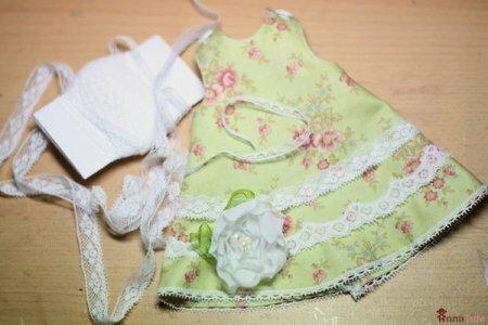 Летнее платье для Тильды