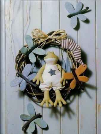 Тильда лягушка: выкройка мягкой игрушки для шитья