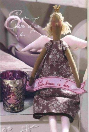 Тильда принцесса на горошине: выкройка куклы для шитья