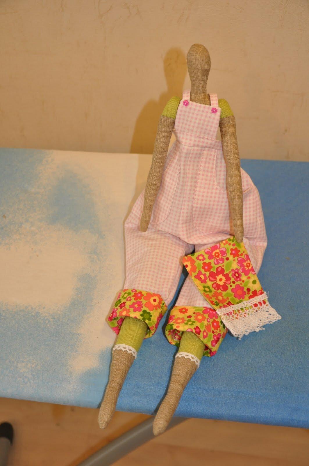 Кукла тильда своими руками видео