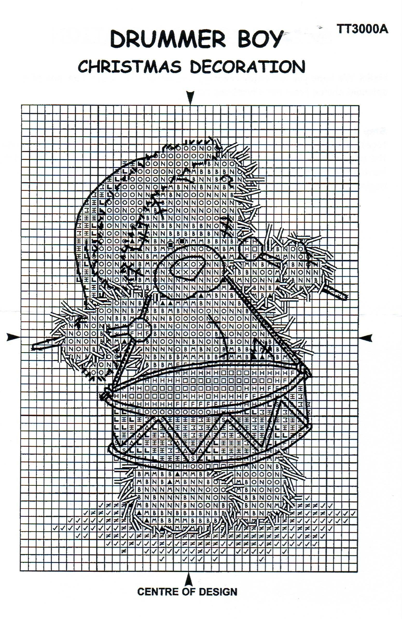 схемы вышитых ваз