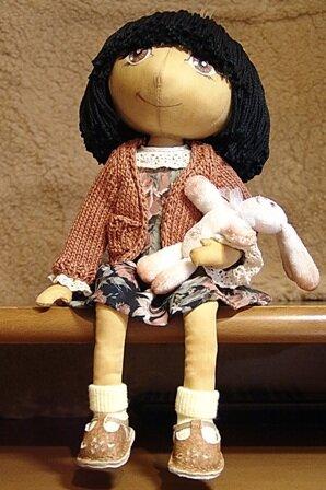 Текстильная Кукла (мастер-класс)