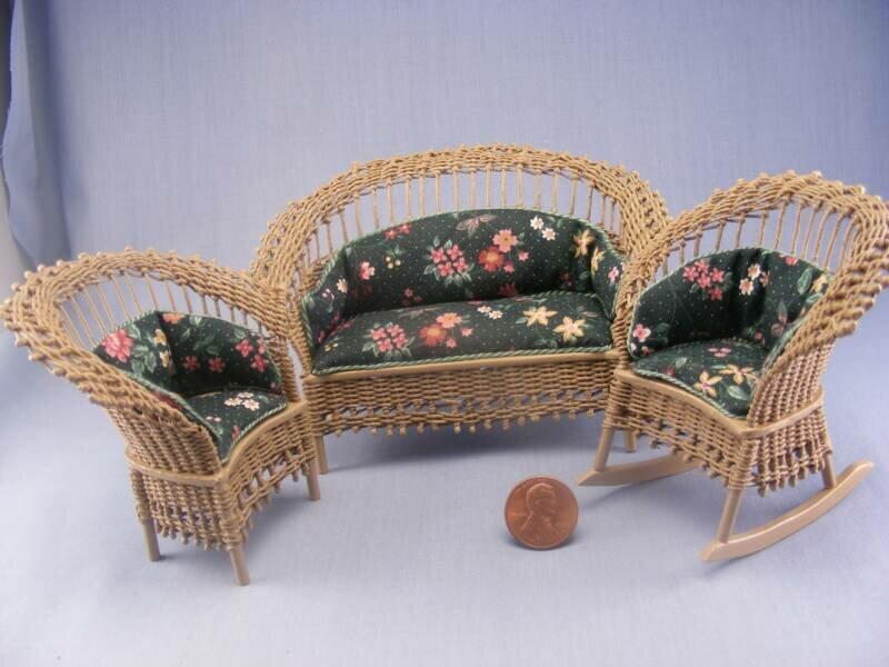 Мебель для кукол из газетных трубочек мастер класс