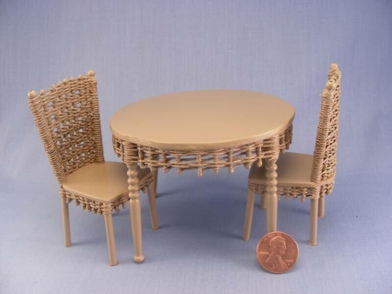 Столы и стулья для кукол своими руками 271