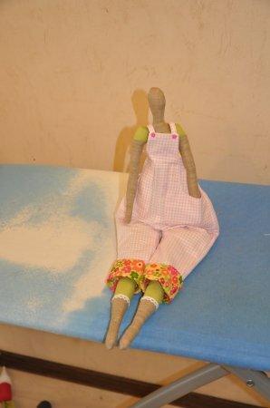Тильда Садовница: мастер класс по шитью куклы