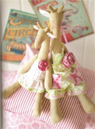 Тильда Жираф: мастер класс по шитью мягкой игрушки