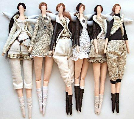 Подборка кукол тильд рукодельниц часть XVII