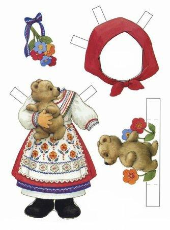 Бумажные Куклы распечатать
