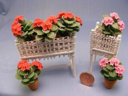 Плетеная Кукольная Мебель