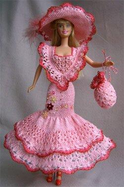 Одежда для кукол  схемы и выкройки 133