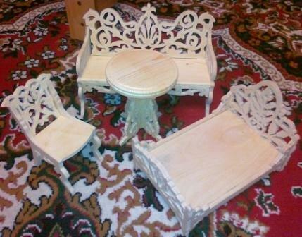 Деревянная Мебель для Кукол