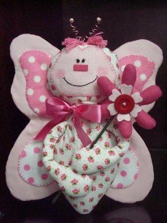 Куклы-бабочки примитивы. Выкройки.