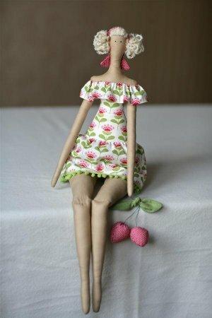 Тильда Фруктовый Ангел или Fruitgarden angel: выкройка и мастер класс по шитью куклы