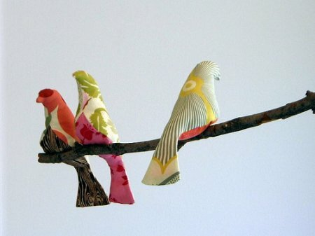 Тильда Птички (выкройка)