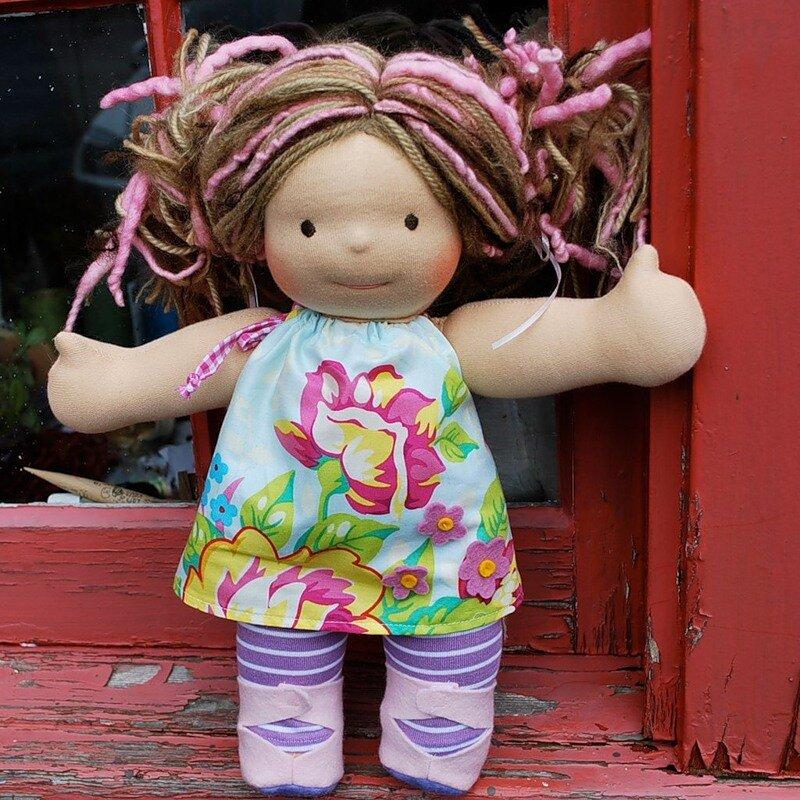 Самые простые куклы своими руками фото 49