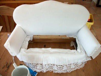 Кресло для барби своими руками мастер класс
