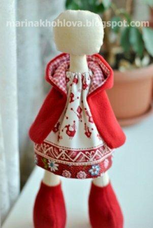 Пальто для Куклы (мастер-класс)