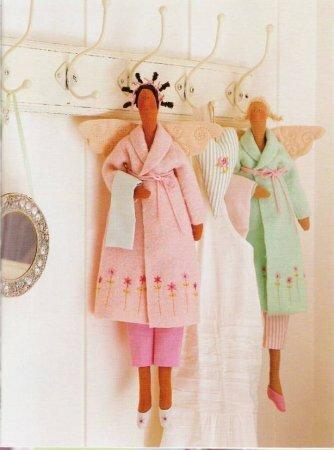 Тильда Банный ангел: выкройка куклы для шитья