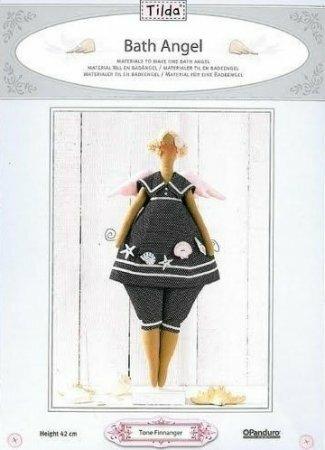 Тильда Морской Ангел: выкройка куклы для шитья