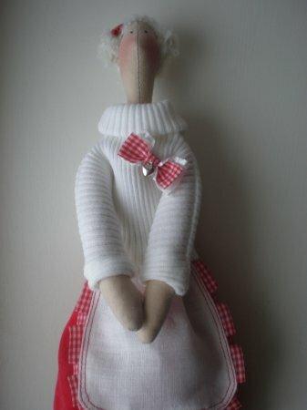 Тильда Ангел Домашнего Уюта: мастер класс по шитью куклы от Анастасии Коломакиной
