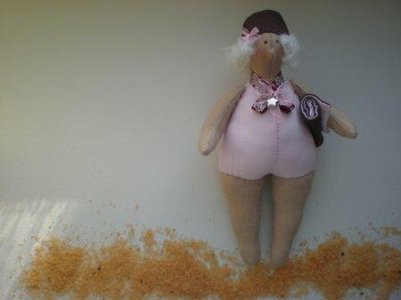 Тильда Купальщица: мастер класс по шитью куклы от Анастасии Коломакиной