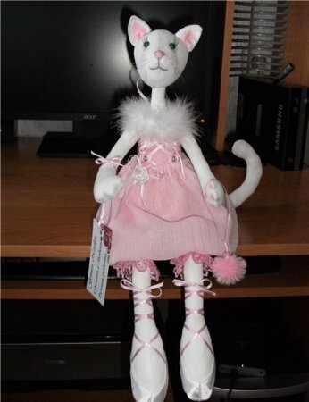 Выкройка кошки балерины