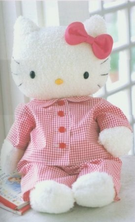 Выкройка игруки Hallo Kitty