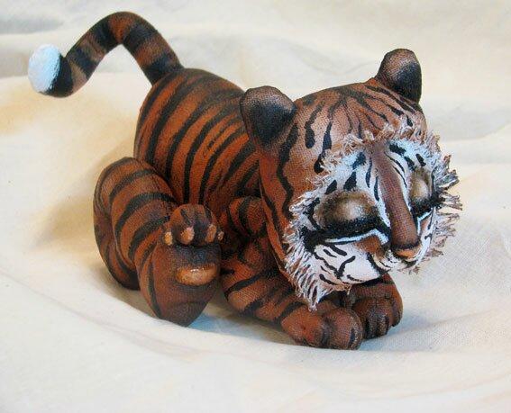 Как сделать тигра из бумаги своими руками? Вечные вопросы