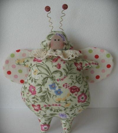 Тильда Жу - Жу - Жу: выкройка мягкой игрушки для шитья