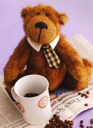 Медвежонок - выкройка мягкой игрушки