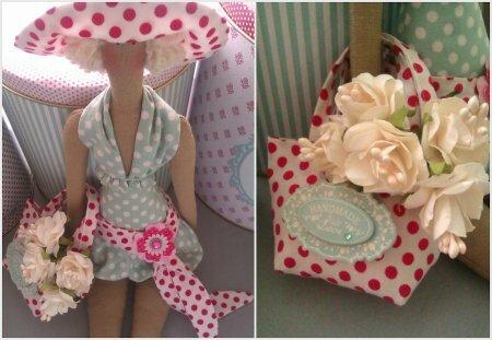 Тильда Dottie Doll: мастер класс по шитью куклы из журнала «Tilda Homemade ideas»