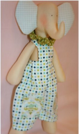 Тильда слон: выкройка и мастер класс по шитью мягкой игрушки