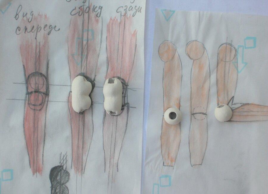 Как сделать шарнир для шарнирной куклы
