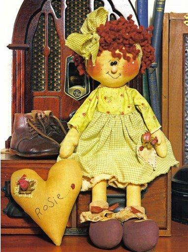 выкройка текстильных кукол гномиков