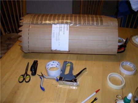 Стоячая коробка для куклы своими руками. МК
